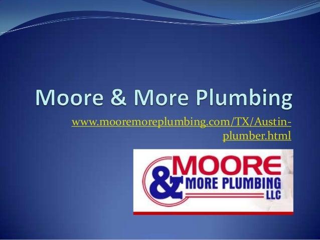 Austin Water Heater Repair Company   Moore & More Plumbing