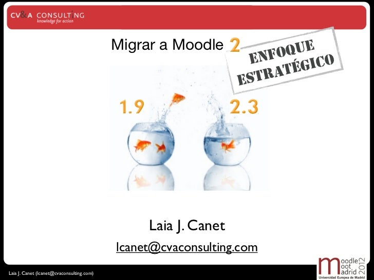 Migrar a Moodle 2.3: un enfoque estratégico