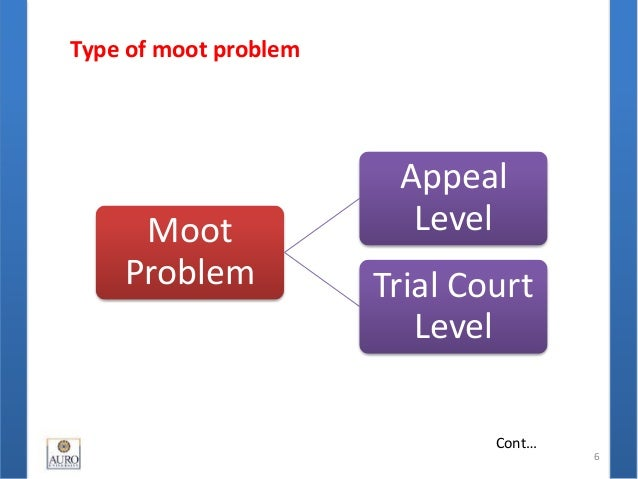 moot court problem Uts law students' society: mooting tutorial  a moot problem is a predrafted factual situation in which a point or  2012 moot court.