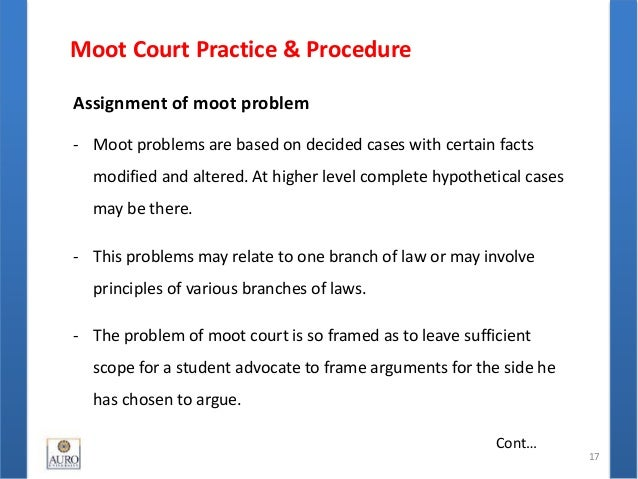 moot court outline Understanding fair competition law requires looking at supreme court case law but also students enrolled in this course will be representing the school in various moot court appellate and responses and replies to arguments prepares students to outline and organize arguments edit.
