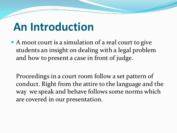 Writing Law Brief for Simulation court?