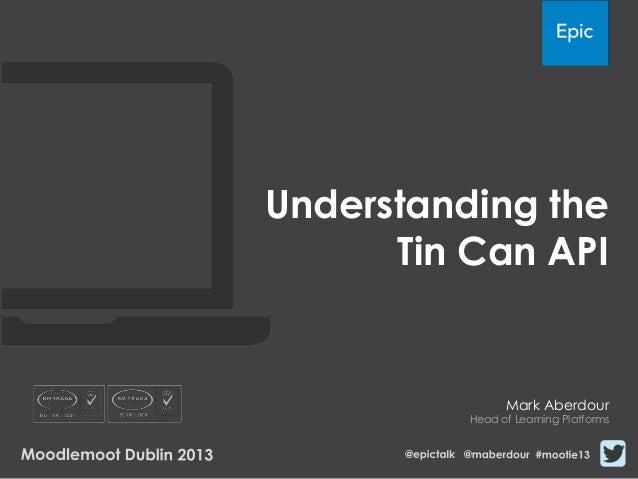 Understanding the TinCan API