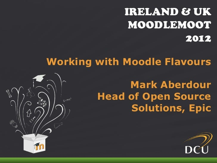 Working With Moodle Flavours