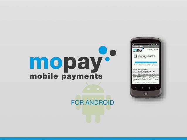 Mopay For Android On Linked In