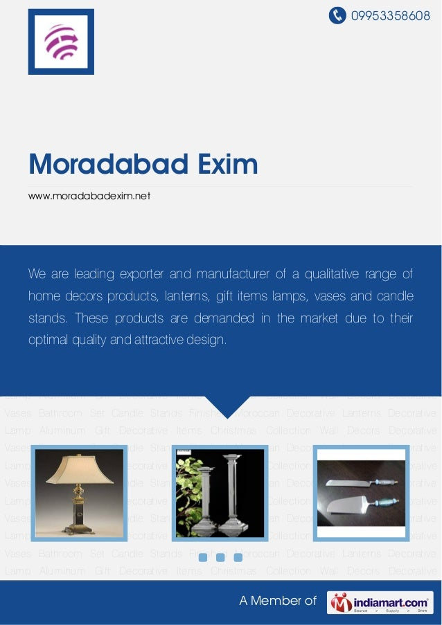 Decorative Lamp by Moradabad exim