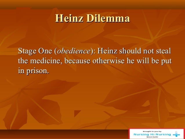 heinz dilemma Kohlberg's theory of moral development offered a framework for how children  form moral reasoning through a series of six key stages.