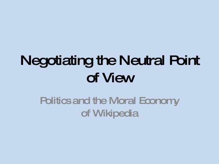 Moral Economy Of Wikipedia 2