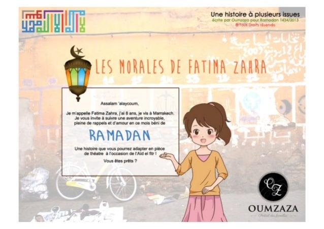 Les morales de Fatima-Zahra
