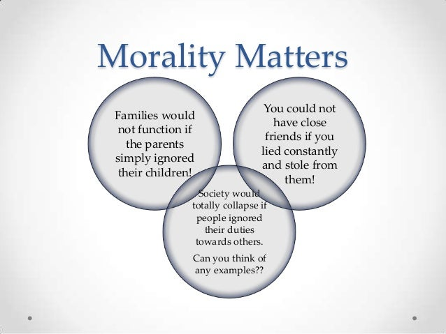 Why should law NOT be influenced by morals?