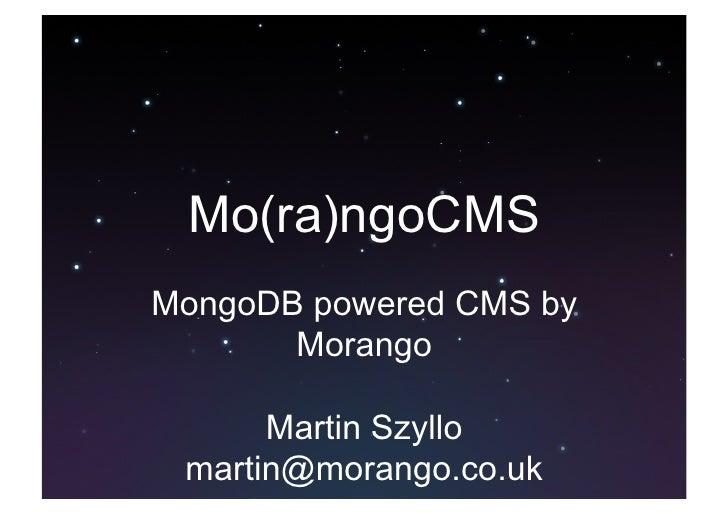 Morango cms