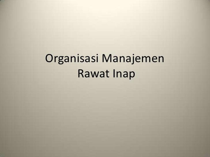 O&M Ranap (slide)