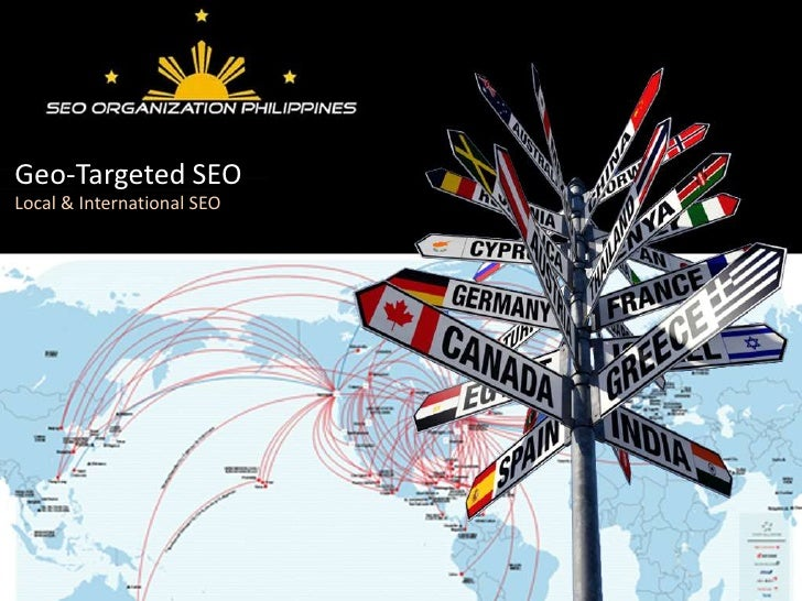 Local & International SEO - MORCon 2011 Presentation