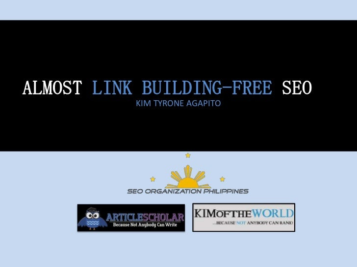 Almost Link-Building Free SEO = Great On-Page + Viral Link Acquisition