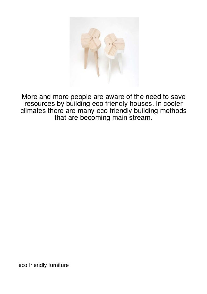 More and more people are aware of the need to save resources by building eco friendly houses. In coolerclimates there are ...