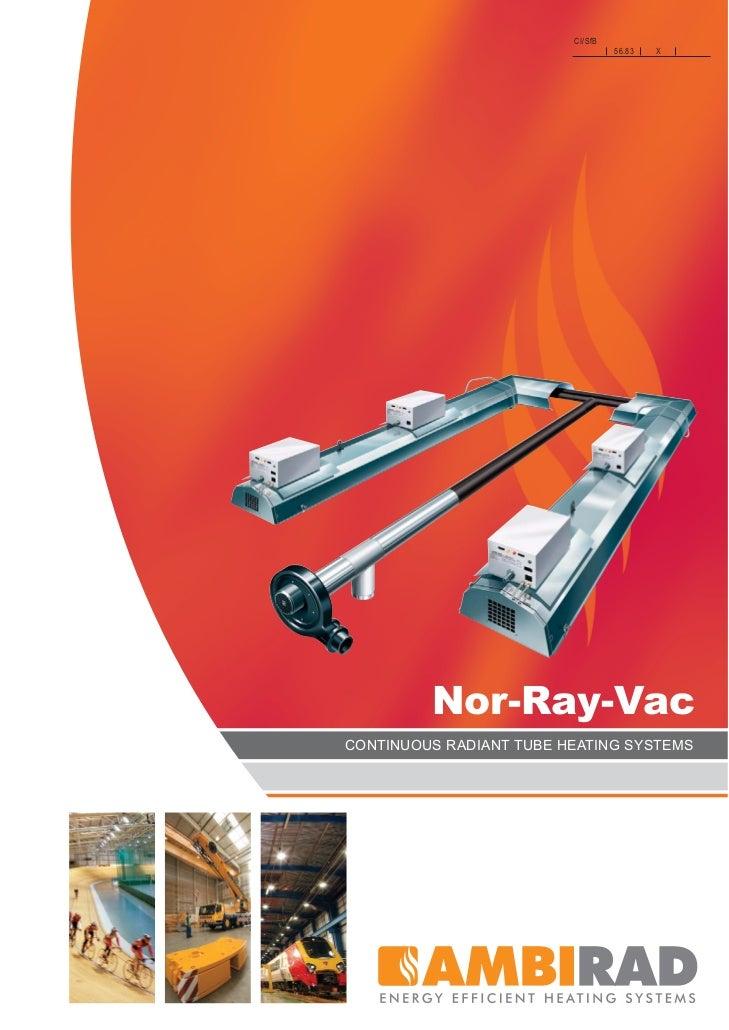 radiant heater PDF's