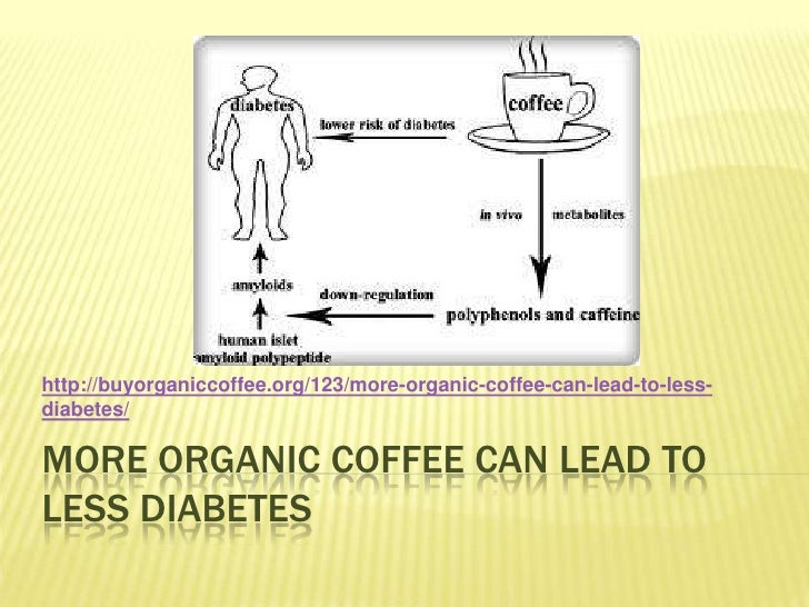More organic coffee can lead to less diabetes