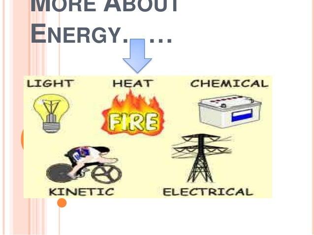 More abt energy...