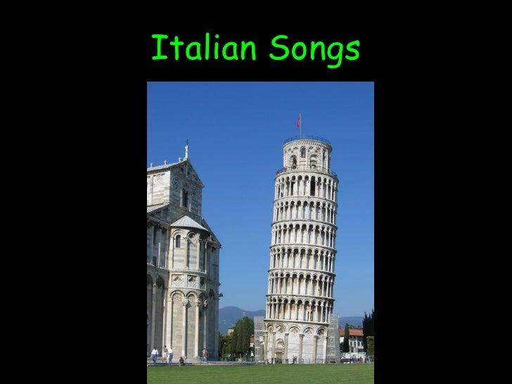 Italian Songs