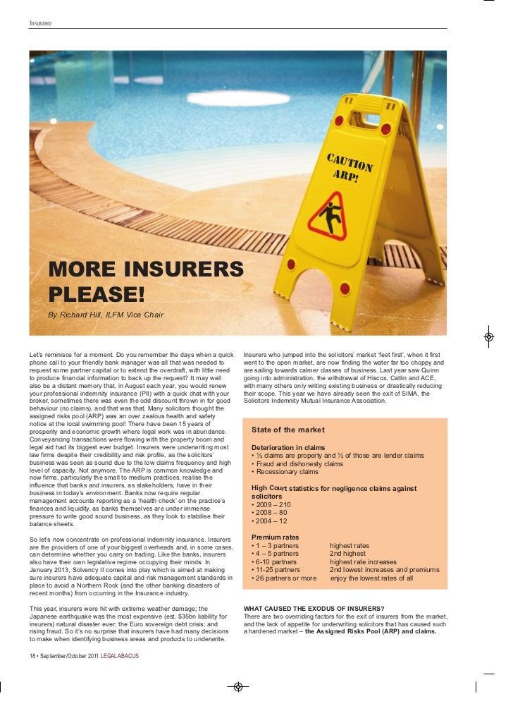 More Insurers Please