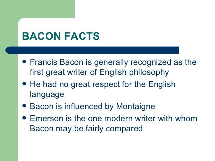 francis bacon essays in modern english