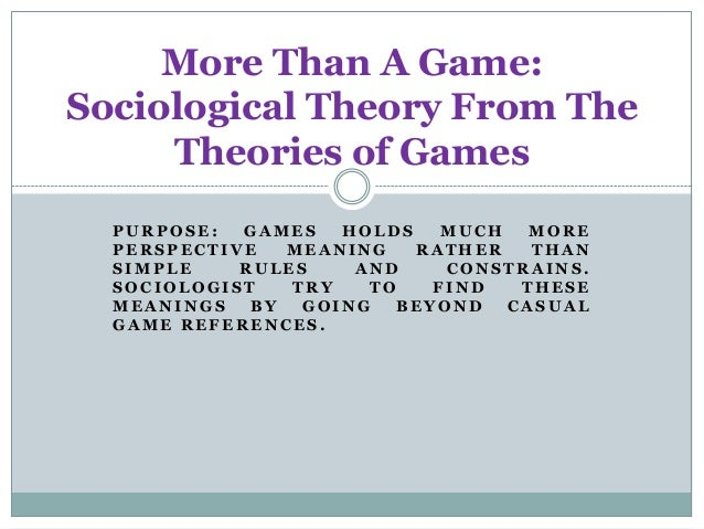 What Is The Sociological Theory