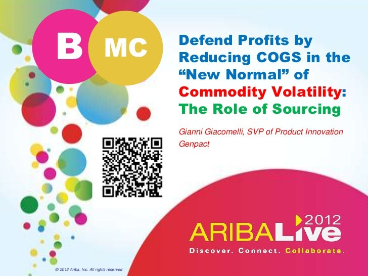 B                          MC             Defend Profits by                                          Reducing COGS in the ...