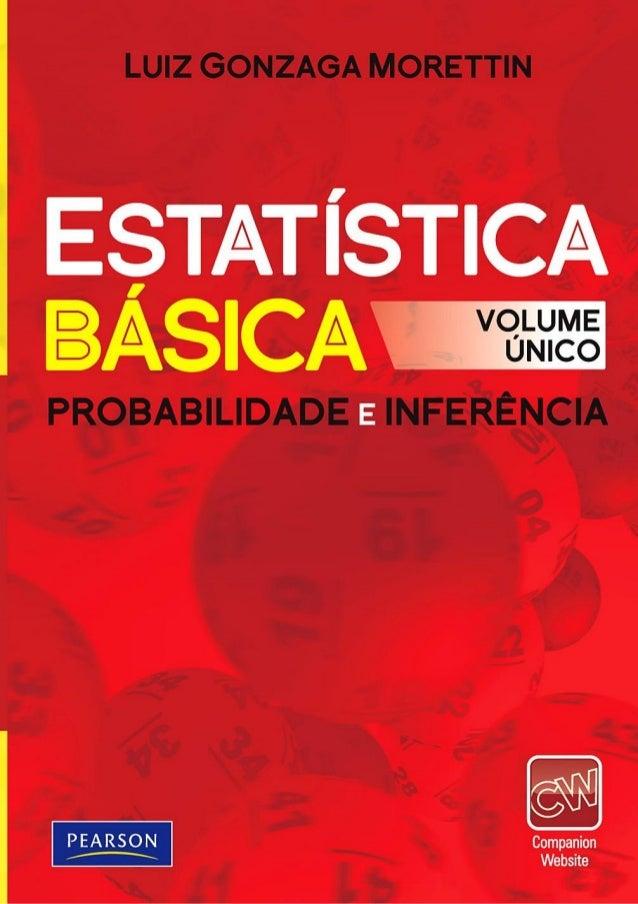 Morettin   estatistica básica, probabilidade