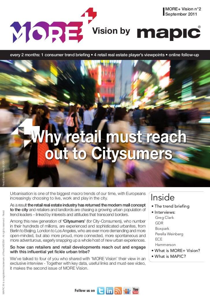 More Vision 2: Citysumers