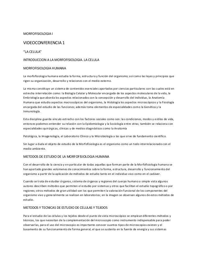 Morfofisiologia i
