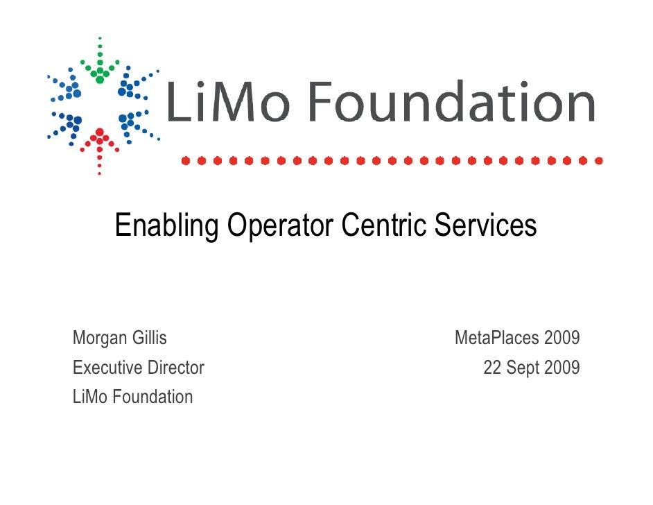 Morgan Gillis - Limo Foundation