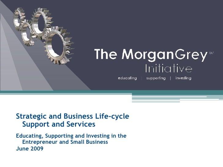 Morgan Grey Initiative Capabilities