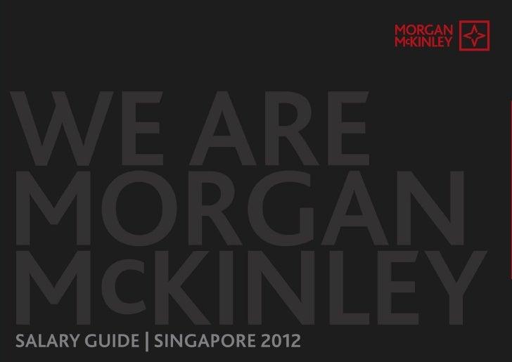 Morgan McKinley Singapore Salary Survey 2012