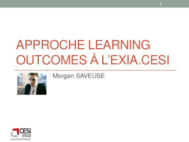 Morgan Saveuse : l'approche compétences à l'Exia.Cesi