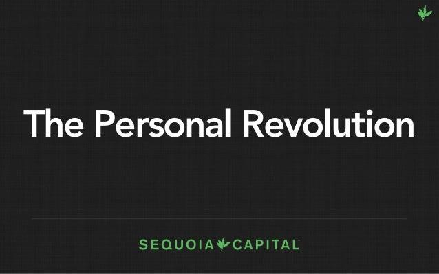 K8 Keynote: The Personal Revolution