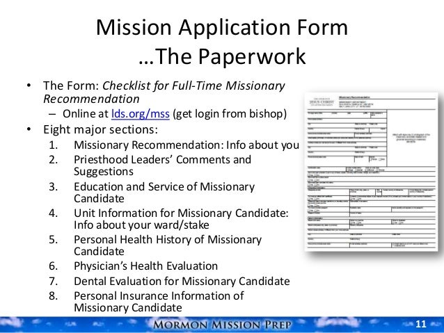 missionary papers