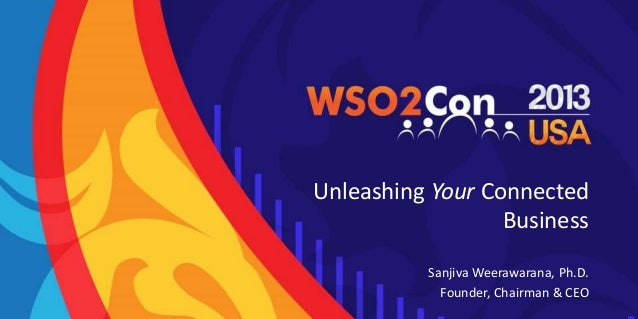 Unleashing Your Connected Business Sanjiva Weerawarana, Ph.D. Founder, Chairman & CEO