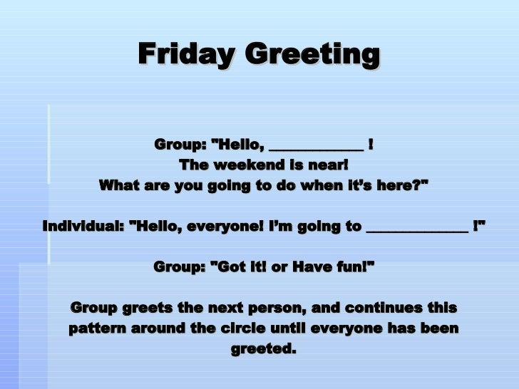 Morning Friday Greeting Images