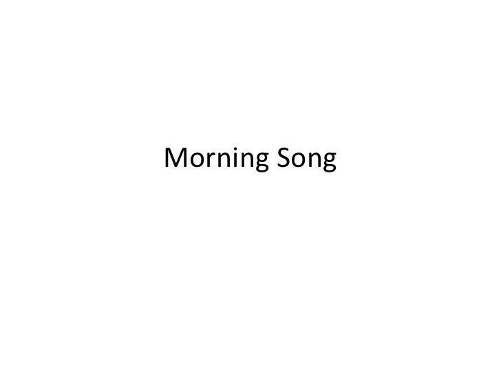Morning Song<br />