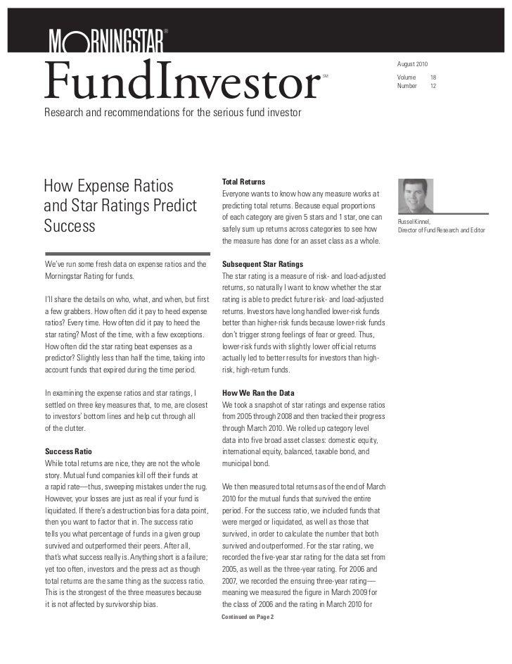 Morningstar fund investor_fees_predictor