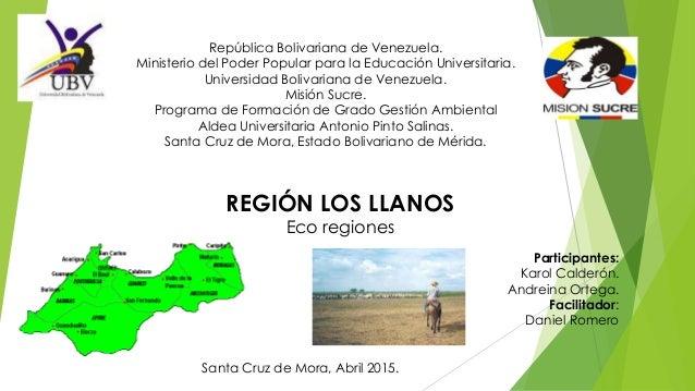 República Bolivariana de Venezuela. Ministerio del Poder Popular para la Educación Universitaria. Universidad Bolivariana ...