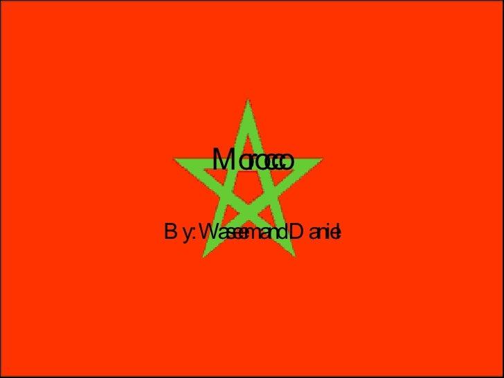 Morocco History Pres.