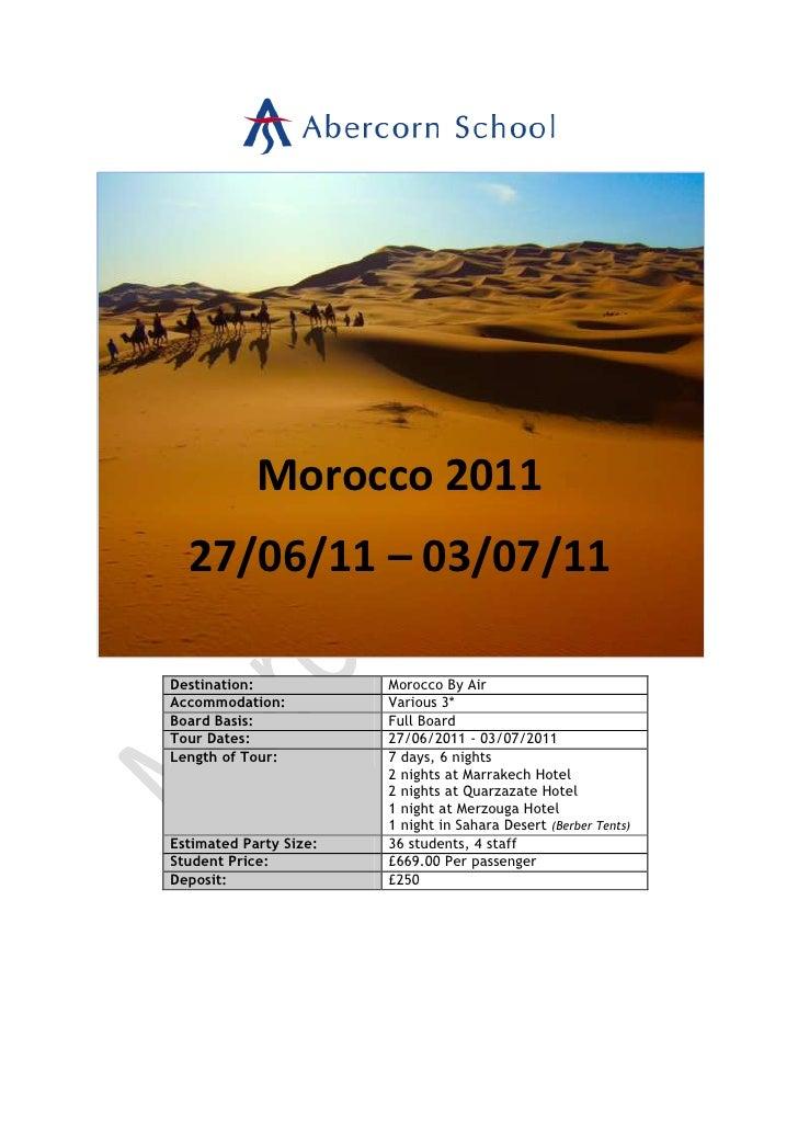 Morocco 2011 edited