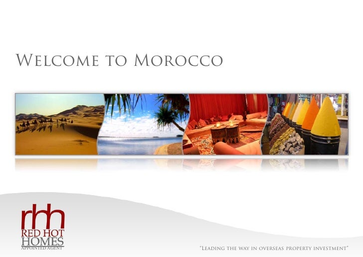 """Ref: BD237   Welcome to Morocco                           """"Leading the way in overseas property investment"""" APPOINTED AGENT"""