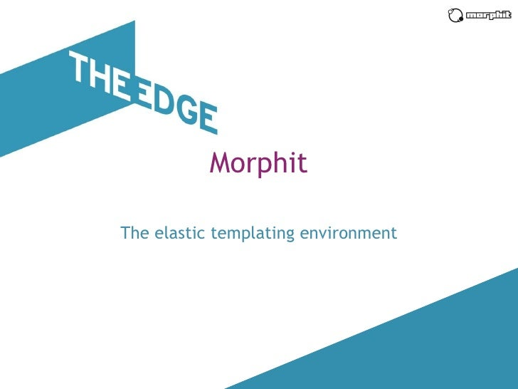 Morphit introduction