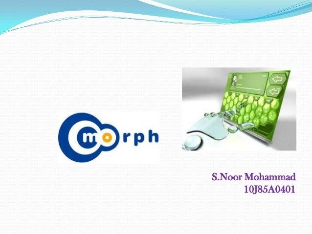 S.Noor Mohammad       10J85A0401