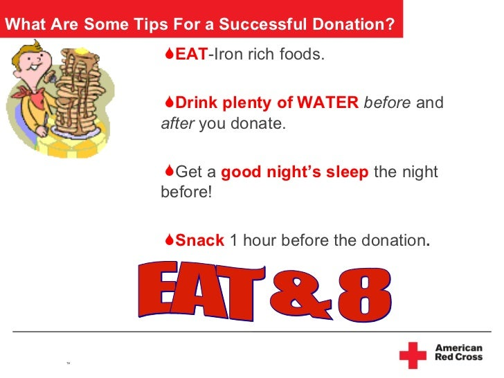 Can You Drink The Night Before Donating Blood