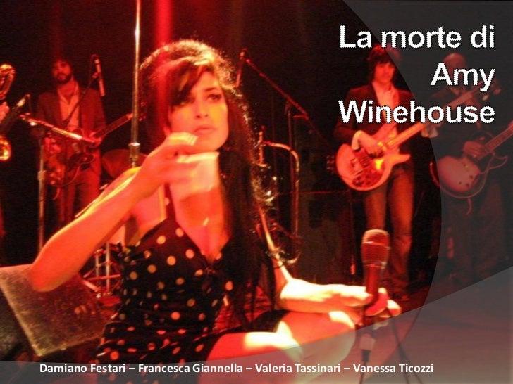 Morte di Amy Winehouse