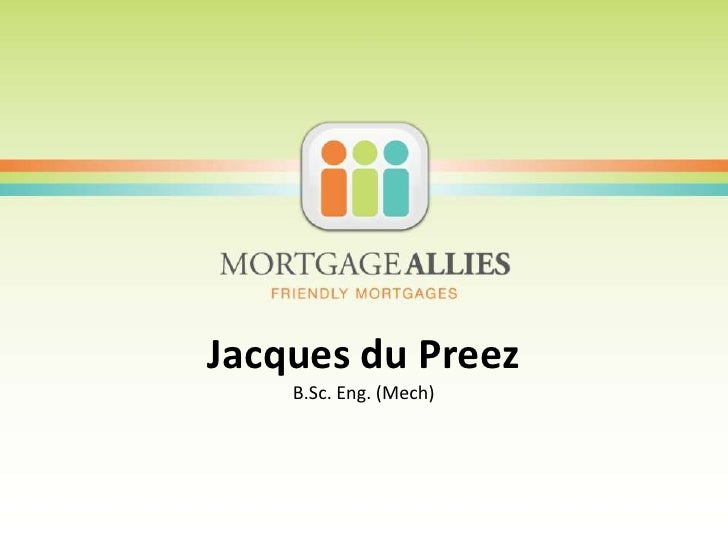 Mortgage allies   ppt template