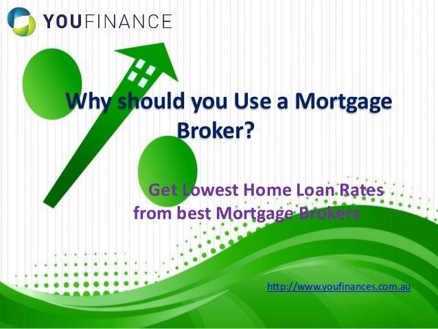Should i use mortgage broker