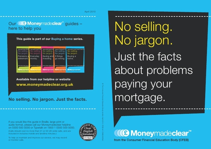 Mortgage Cantpay